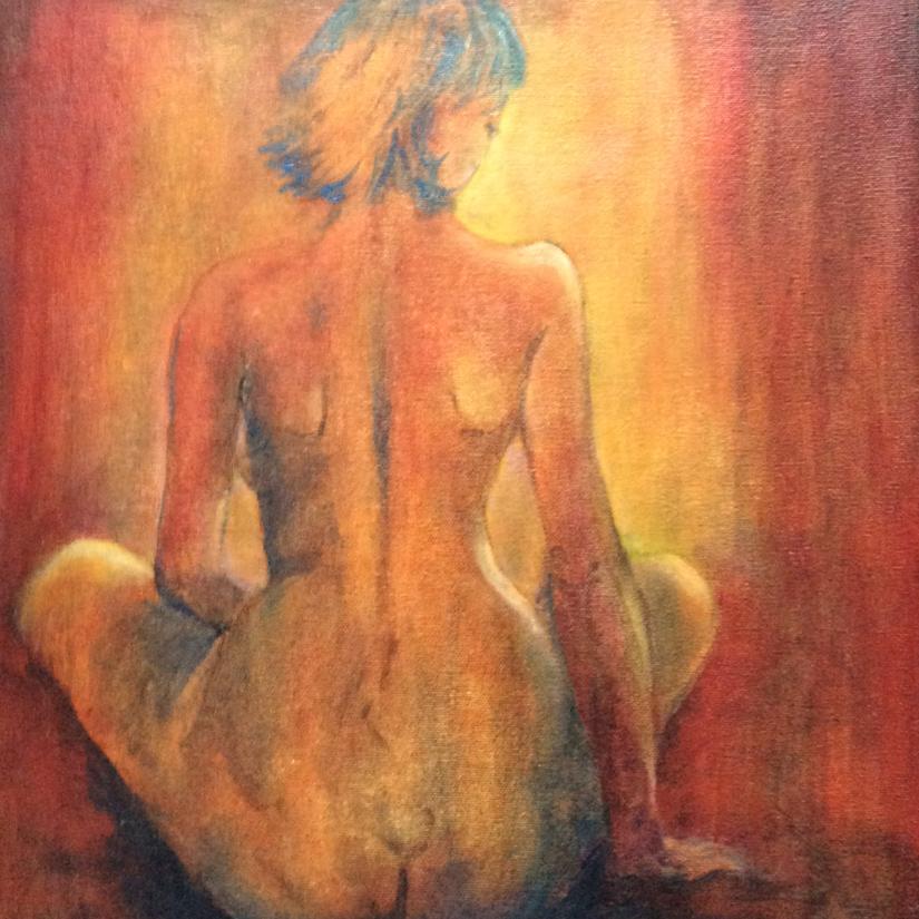 """Introspection""-oil-on-canvas---Giuliana-De-Witts"