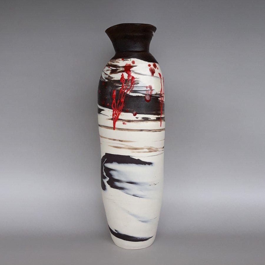 Carol-Watkins_Fire-on-the-Mountain-1-Neriage-Porcelain