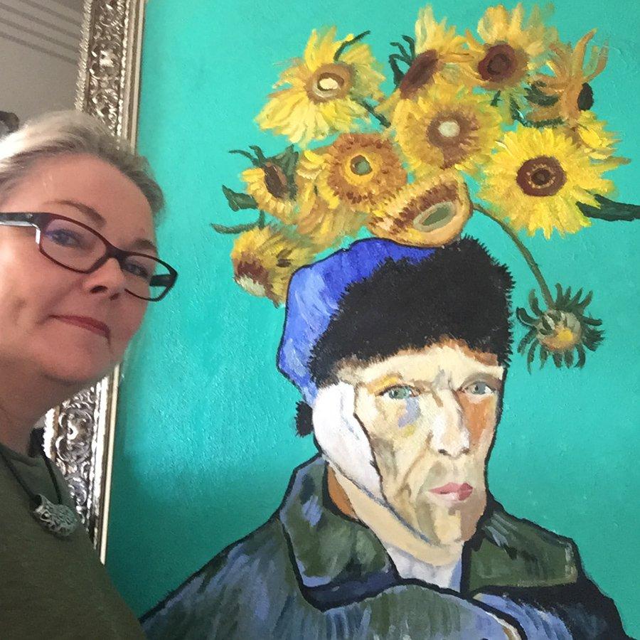 Lisa-Jones-Vincent-Sunflower-head