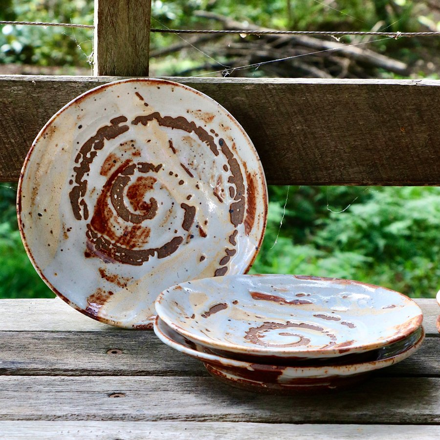 Rowley-Drysdale-Shino-spiral-plates